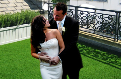 Hire wedding artifical grass